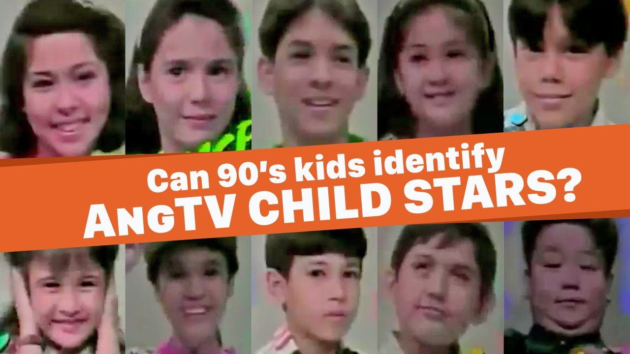 WATCH: Today's kids try to identify AngTV child stars