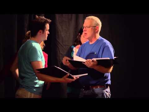 What's a workshop? David MacGregor and revising a script.