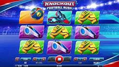 Knockout Football Rush - Habanero Video Slot.