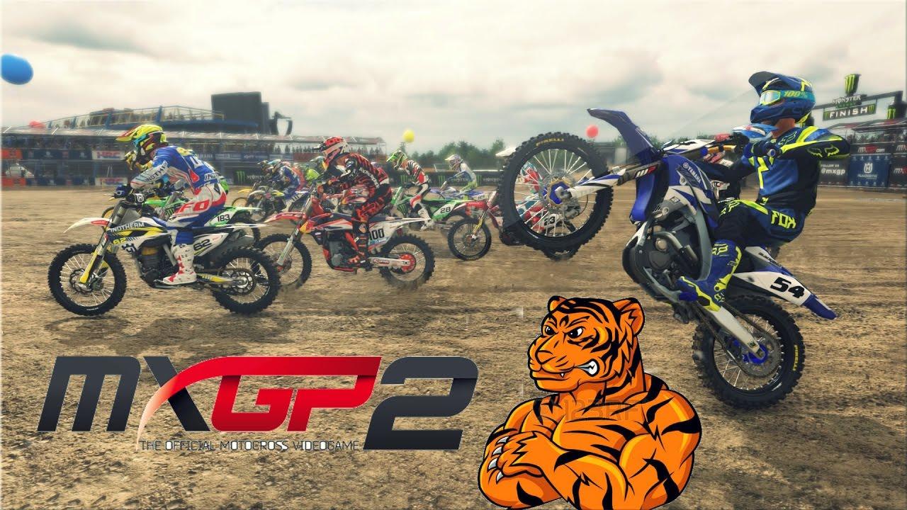 jeu de moto cross mxgp 2 youtube