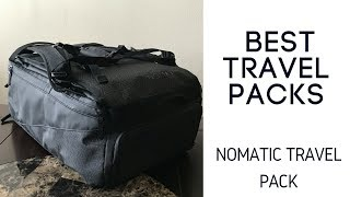 Best Travel Packs: Nomatic Travel Bag