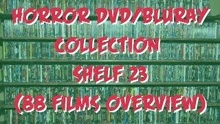 Horror DVD/BluRay Collection: Shelf 23  | 88 Films
