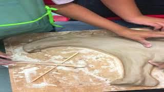 Nature Inspired Ceramic Mural Workshop