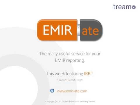 EMIRate Data Import Reporting 2013 07
