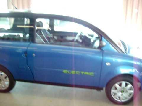 2010 Zenn Electric Car 4 At Flea Market