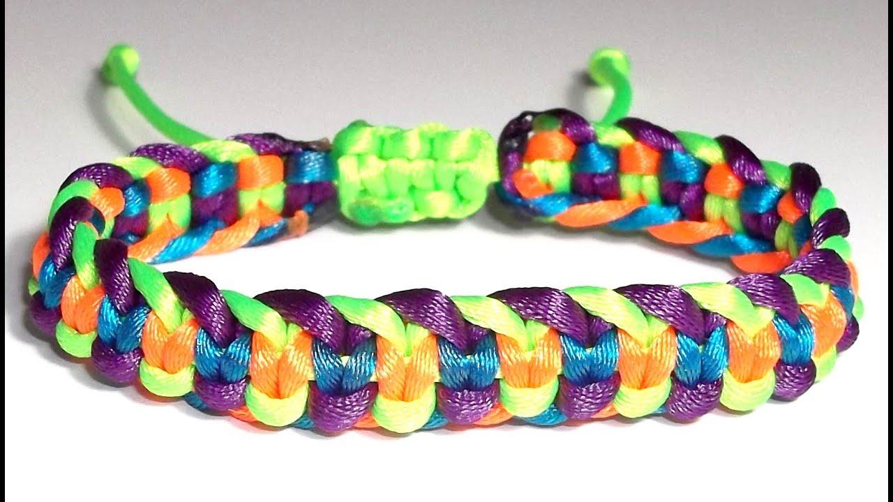 Pulseras de hilo 3 colores