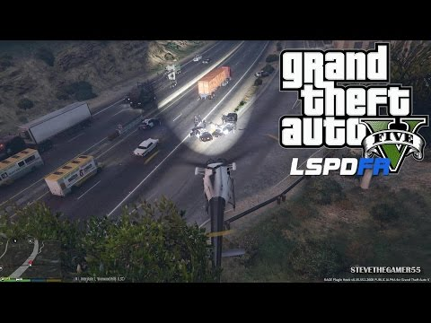 GTA 5 - LSPDFR - EPiSODE 17 - LET'S BE COPS - HELICOPTER PATROL (GTA 5 PC POLICE MODS)