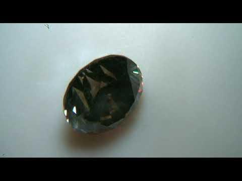 brd4 GHI Report No  C18545 0 87 Ct  SI2 Fancy grayish Brown Video