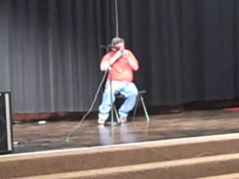 Roy on harmonica - Variety Show Clip 2