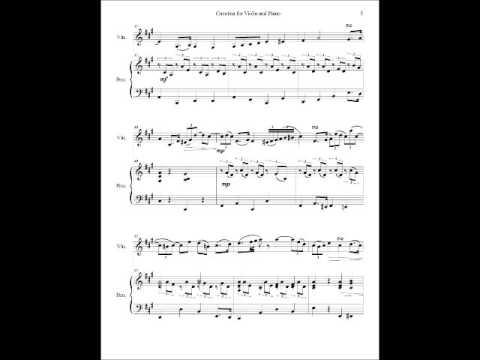 Cavatina for Violin and Piano
