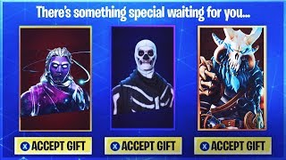 *NEW* GIFT SKINS in FORTNITE SEASON 5? - Fortnite Battle Royale Gift System