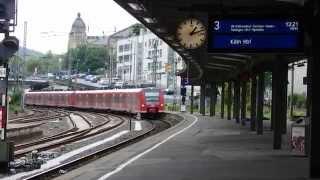 Rhein-Wupper-Bahn (RB48) in Wuppertal Hauptbahnhof