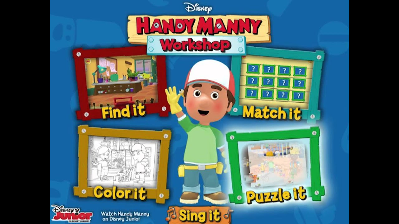 It's just a graphic of Trust Handy Manny Images