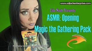 ASMR: Opening Magic the Gathering Pack