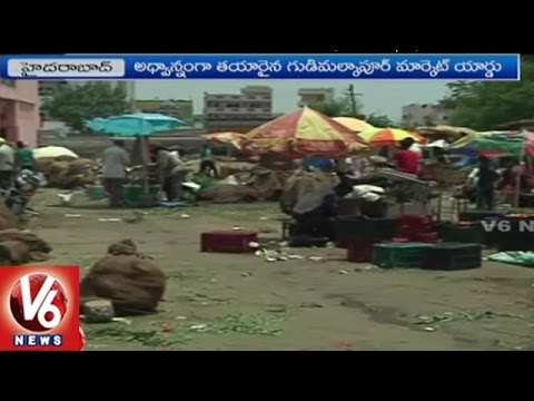 Vegetable Vendors Face Problems With Lack Of Sheds In Market