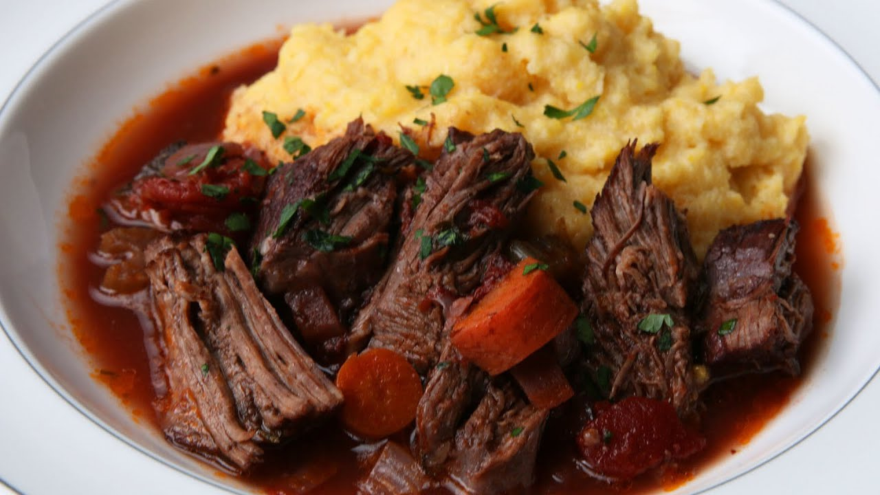 Meat stew - useful and tasty