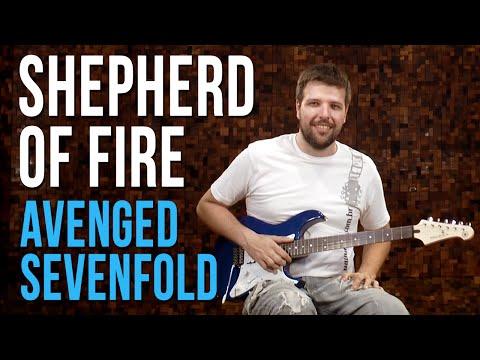 Avenged Sevenfold - Shepherd Of Fire (como tocar - aula de guitarra)
