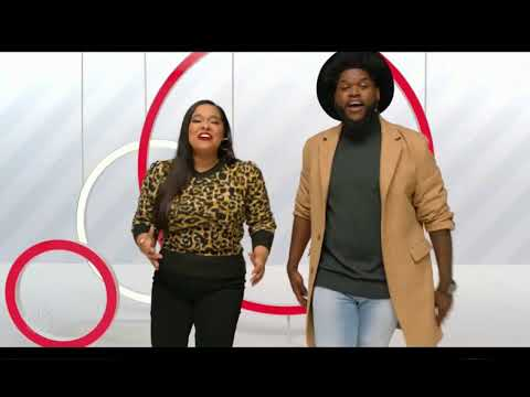 Davon Fleming and Brooke Simpson Holiday Target Ad