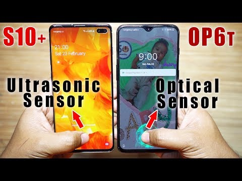 Galaxy S10+ vs OnePlus 6T Finger Scanner Test! | Ultrasonic