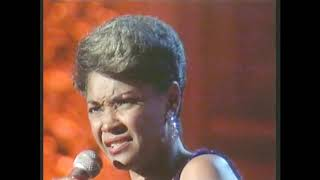 Nancy Wilson 1987 at Carnegie Hall ---Guess Who I Saw Today