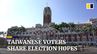 Taiwan Presidential Election 2020: What are Taiwanese hoping for?