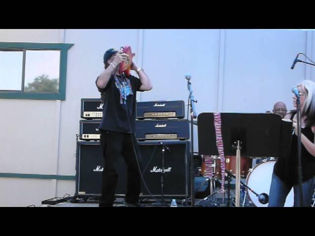 Full Throttle Band~Voodoo Child, Star spangled Banner~Live Ride Church, June 2013