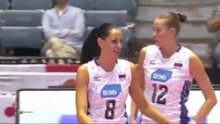 Волейбол. Россия - Доминиканская Республика. Кубок мира 2015.
