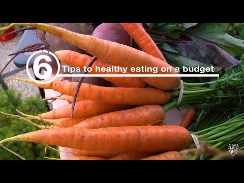 Mayo Clinic Minute: 6 tips to healthy eating on a budget