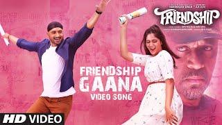 Friendship Gaana - Video Song | Harbhajan Singh, Arjun, Losliya, Sathish | Gana Achu