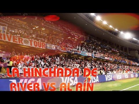 LOS HINCHAS DE RIVER EN EL PARTIDO VS AL AÍN / Mundial de Clubes 2018
