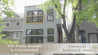 Modern Condominium for sale at 670 Jessie Ave in Crescentwood