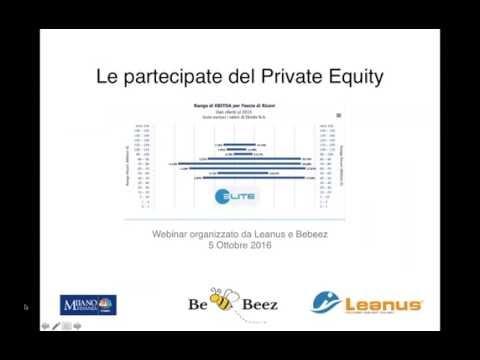 """Webinar Leanus - """"Il portafoglio del Private Equity - L'analisi delle imprese Elite"""