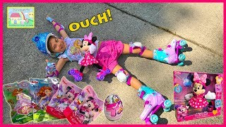 Minnie Roller Skate Toy Opening and Sofia the First Toys!