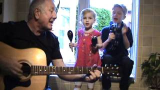 Yellow Submarine - The Beatles - acoustic cover by Matthew, Hollie & Grandad