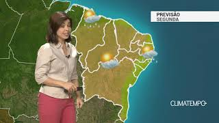 Previsão Nordeste – Chuva passageira pelo litoral