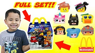 2019 LEGO Movie 2 Happy Meal Toys Unboxing The LEGO MOVIE 2 TOYS