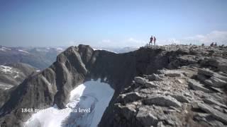 hiking mount skla english destination stryn nordfjord