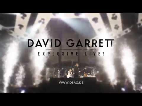 David Garrett Explosive! Live Tour 2017
