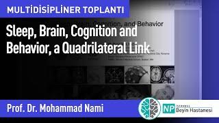 Multidisipliner Toplantı - Sleep, Brain, Cognition and Behavior, a Quadrilateral Link
