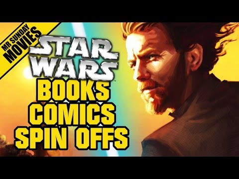 Best STAR WARS Books, Comics, Spin-offs (With Kristian Harlo
