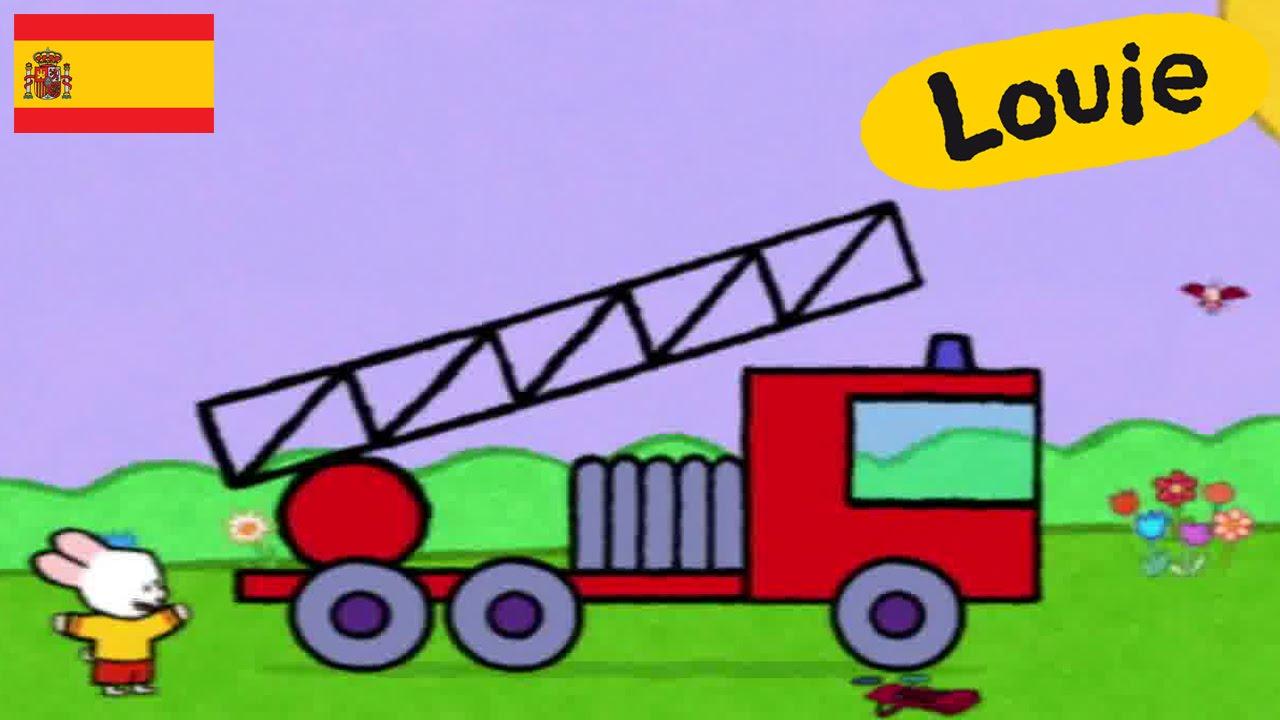 Worksheet. Camin de bomberos  Louie dibujame un camin de bomberos