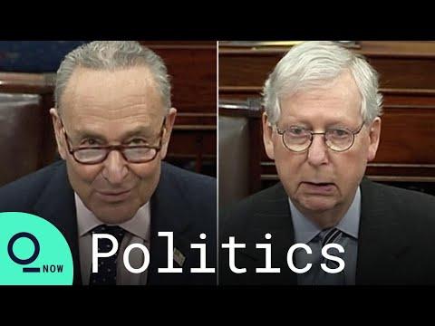 Schumer, McConnell Spar Over Biden's Covid Stimulus Bill on Senate Floor - Bloomberg Quicktake: Now