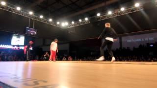 Eurobattle 2012 - Semi Final Bgirl Battle - Original South Queens(France) vs Kristy & Angela(Russia)