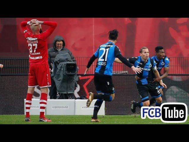 2017-2018 - Jupiler Pro League - 22. Antwerp FC - Club Brugge 2-2