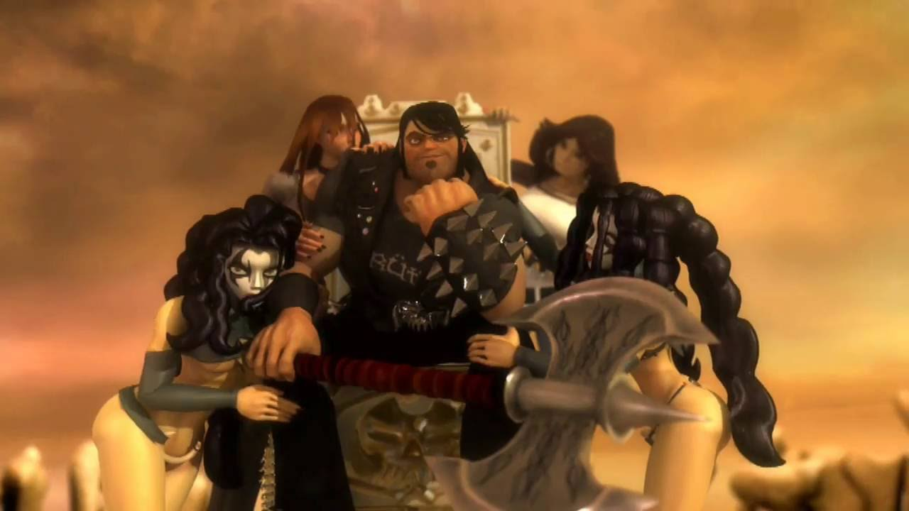 Brutal Legend Celebrity Trailer - XboxAchievements.com
