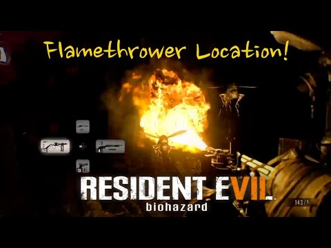 Flamethrower Location - Resident Evil 7 (RE7)