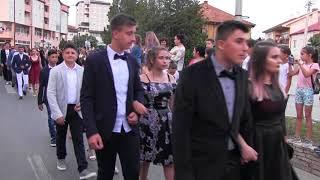 """ООУ """"ВАНЧО ПРКЕ"""" - ДЕФИЛЕ ПОЛУМАТУРАНТИ 2018"""