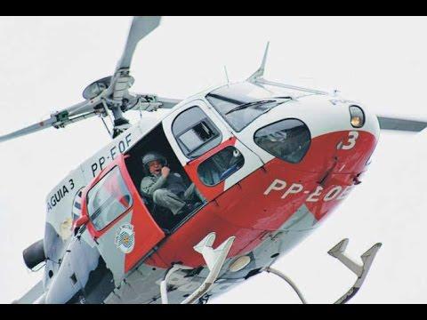 EP1 Grupamento Aéreo da Polícia Militar (PMESP) Aguias da cidade  EP1 (HD)