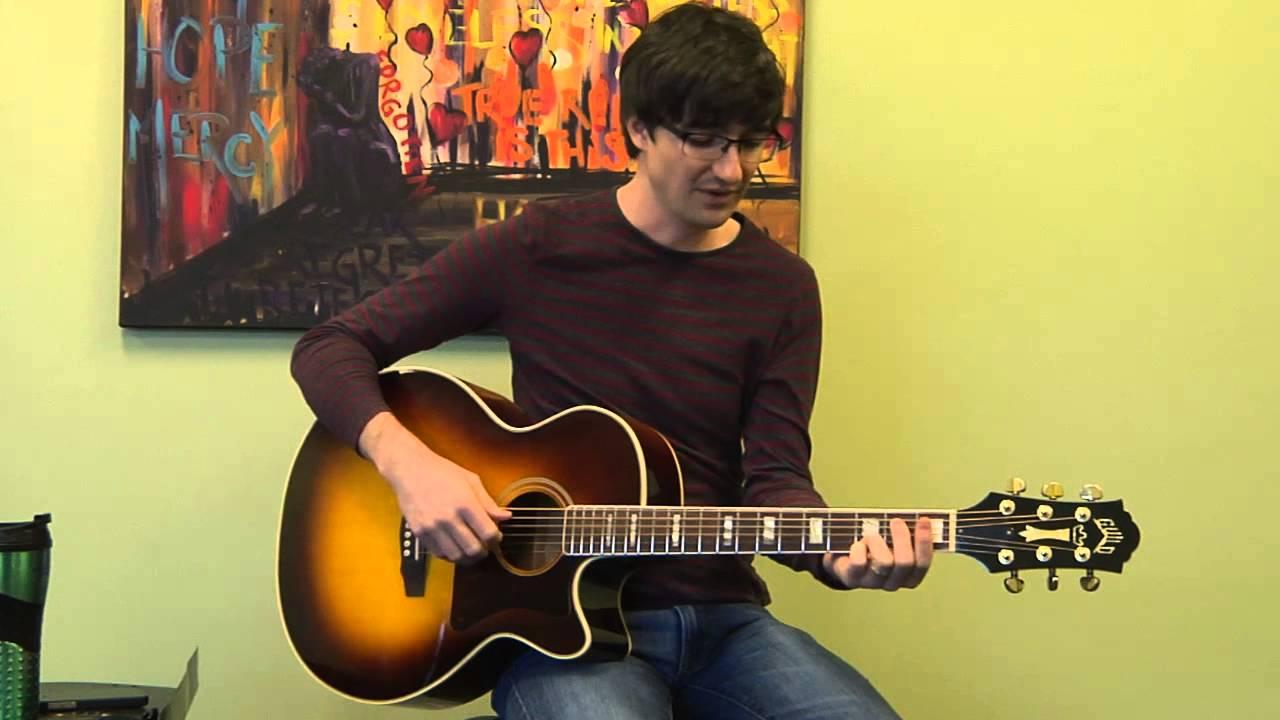 Cove Worship We Believe Guitar Instructional Youtube