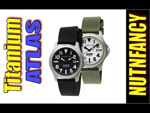 Titanium Field Watch: Momentum ATLAS
